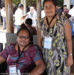 Two women from the Fiji Disabled People's Federation